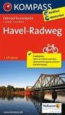 Kompass Fahrrad-Tourenkarte Havel-Radweg
