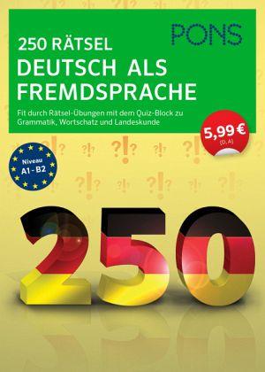 pons 250 grammatik bungen deutsch als fremdsprache schulb cher portofrei bei b. Black Bedroom Furniture Sets. Home Design Ideas