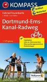 Kompass Fahrrad-Tourenkarte Dortmund-Ems-Kanal-Radweg