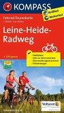 Kompass Fahrrad-Tourenkarte Leine-Heide-Radweg