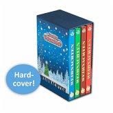 Lustiges Taschenbuch Weihnachten Band 1 - 4 im Schuber
