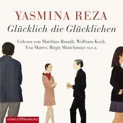 Glücklich die Glücklichen, 4 Audio-CDs - Reza, Yasmina