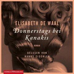 Donnerstags bei Kanakis, 5 Audio-CDs - Waal, Elisabeth de