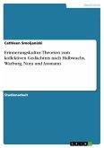 Erinnerungskultur. Theorien zum kollektiven Gedächtnis nach Halbwachs, Warburg, Nora und Assmann
