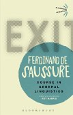 Course in General Linguistics (eBook, ePUB)