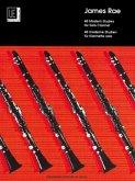 40 Modern Studies, für Klarinette
