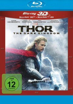 Thor - The Dark Kingdom (Blu-ray 3D, + Blu-ray 2D)