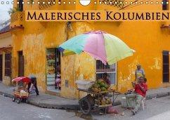 Malerisches Kolumbien (Wandkalender immerwährend DIN A4 quer)