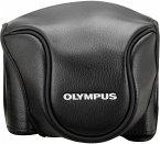 Olympus CSCH-118 Ledertasche schwarz für Stylus 1