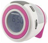 Grundig Sonoclock 220 Radiowecker weiss/pink