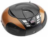 Lenco SCD-37 USB tragbarer CD Player orange
