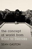 The Concept of World from Kant to Derrida (eBook, ePUB)