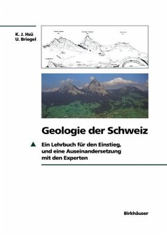 Geologie der Schweiz - Hsü, Kenneth J.; Briegel, Ueli