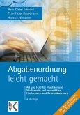 Abgabenordnung – leicht gemacht (eBook, PDF)