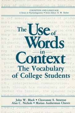 The Use of Words in Context