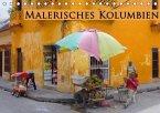 Malerisches Kolumbien (Tischkalender immerwährend DIN A5 quer)