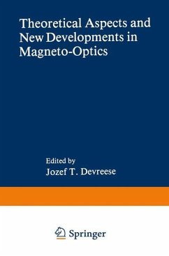 Theoretical Aspects and New Developments in Magneto-Optics
