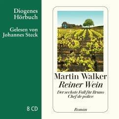 Reiner Wein / Bruno, Chef de police Bd.6, Audio-CD - Walker, Martin