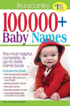 100,000 + Baby Names (eBook, ePUB)
