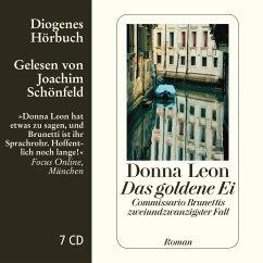 Das goldene Ei / Commissario Brunetti Bd.22 (7 Audio-CDs) - Leon, Donna