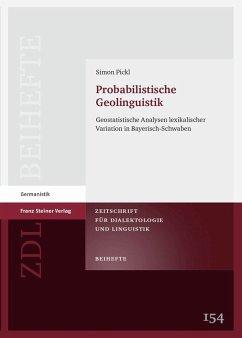 Probabilistische Geolinguistik (eBook, PDF) - Pickl, Simon
