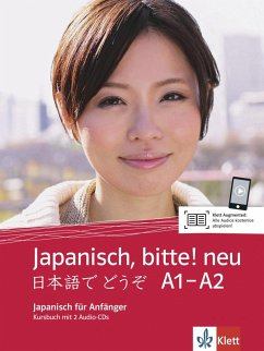 Japanisch, bitte! - Nihongo de dooso 1. Neubearbeitung. Kursbuch + 2 Audio-CDs 1