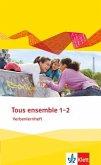 Tous ensemble 1 und 2. Verbenlernheft. Ausgabe 2013