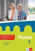 Pontes 1. Arbeitsheft mit Audio-CD