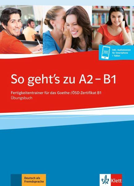 So Gehts Noch Besser Neu A2 B1 übungsbuch Mit 2 Audio Cds