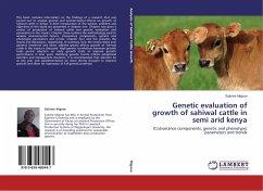 Genetic evaluation of growth of sahiwal cattle in semi arid kenya