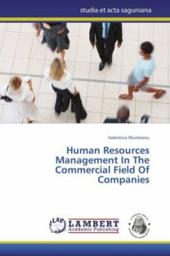 Human Resources Management In The Commercial Field Of Companies