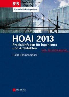 HOAI 2013 (eBook, PDF) - Simmendinger, Heinz