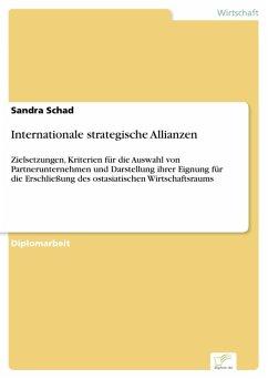 Internationale strategische Allianzen (eBook, PDF) - Schad, Sandra