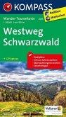 Kompass Wander-Tourenkarte Westweg Schwarzwald
