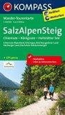 Kompass Wander-Tourenkarte Salz-Alpen-Steig
