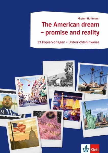 arbeitsbl tter englisch the american dream promise and reality von kirsten hoffmann. Black Bedroom Furniture Sets. Home Design Ideas