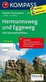 Kompass Wander-Tourenkarte Hermannsweg und Eggeweg