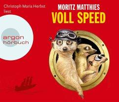 Voll Speed / Erdmännchen Ray & Rufus Bd.2 (4 Audio-CDs) - Matthies, Moritz