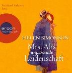 Mrs. Alis unpassende Leidenschaft, 6 Audio-CDs