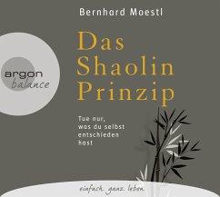Das Shaolin-Prinzip, 3 Audio-CDs - Moestl, Bernhard