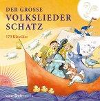 Der große Volksliederschatz, 4 Audio-CDs
