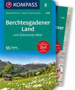 KOMPASS Wanderführer Berchtesgadener Land und Steinernes Meer - Theil, Walter