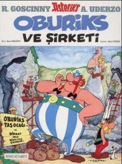 Asteriks Oburiks Ve Sirketi - Uderzo, Albert; Goscinny, Rene