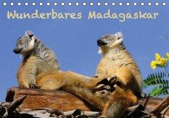 Wunderbares Madagaskar (Tischkalender immerwährend DIN A5 quer)