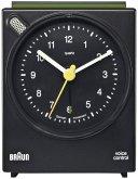 Braun BNC 004 Quarzwecker schwarz