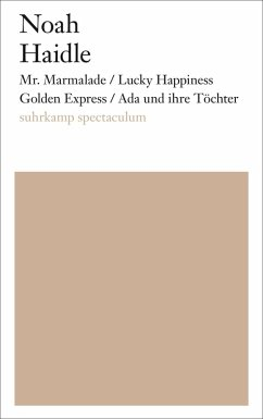 Mr. Marmalade/Lucky Happiness Golden Express/Ada und ihre Töchter (eBook, ePUB) - Haidle, Noah