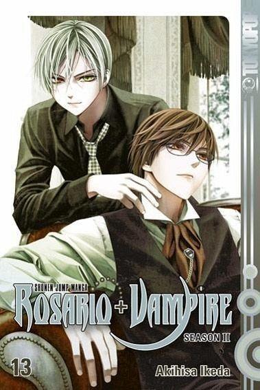 Buch-Reihe Rosario + Vampire Season II