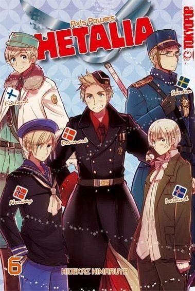 Buch-Reihe Hetalia - Axis Powers