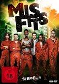 Misfits - Staffel 4 DVD-Box