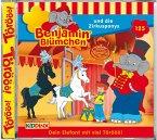Benjamin Blümchen und die Zirkusponys / Benjamin Blümchen Bd.125 (1 Audio-CD)